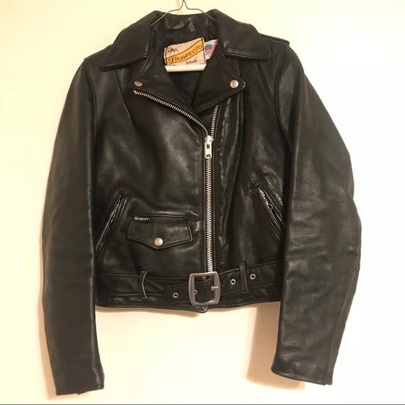 16cda5e1b (450pp) Schott Perfecto Leather Jacket